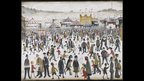 Lancashire Fair: Good Friday, Daisy Nook, LS Lowry, courtesy UK Government Art Collection
