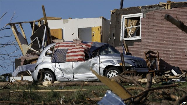 The town of Phil Campbell was hit by a tornado on 27 April