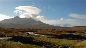 Cuillin hills range, Skye
