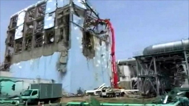 Fukushima nuclear plant