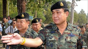 Thai Army chief General Prayuth Chan-ocha (file photo)
