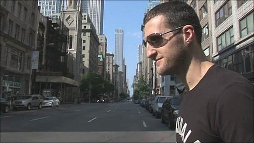 Carl Froch in New York