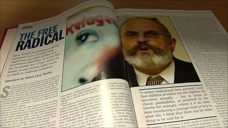 Magill article on David Norris