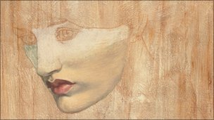Jane Morris painting by Rossetti