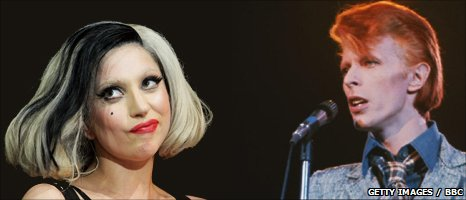 What David Bowie and Lady Gaga might look like on stage together