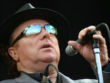Van Morrison at the 2005 Glastonbury Festival