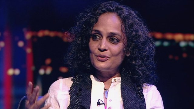 Novelist Arundhati Roy