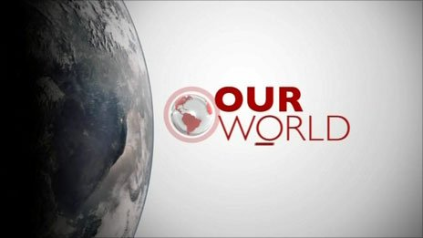 Our World graphic
