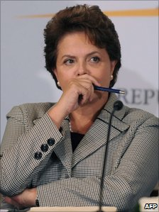 Brazilian President Dilma Rousseff - file photo 