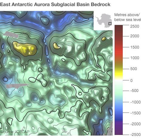 East Antarctic Aurora Subglacial Basin