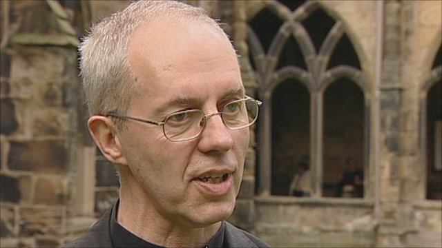 The Very Rev Justin Welby