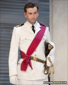 David Tennant in Much Ado About Nothing.