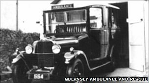 Ambulance and Rescue Guernsey: Old ambulance