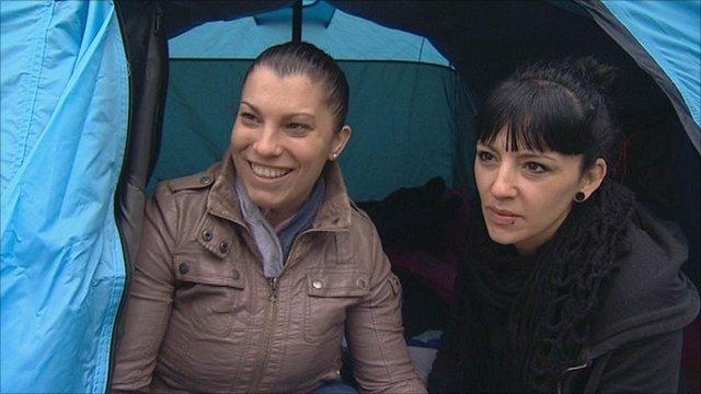 Lorena Rosales and Tamara Palacios