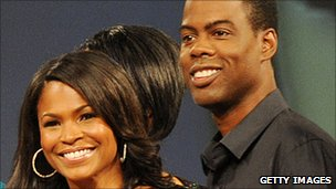 Chris Rock and Nia Long