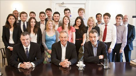 Tony Blair and the Blair Government class