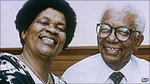 Albertina and Walter Sisulu