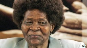 Albertina Sisulu photographed in 2008