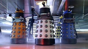 The new Dalek design