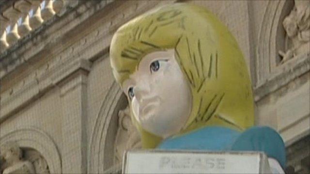 Damien Hirst's sculpture