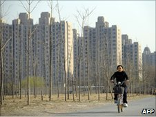 High rise flats in Beijing