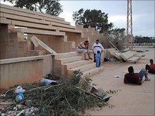 Remains at Al-Ahly Benghazi football club