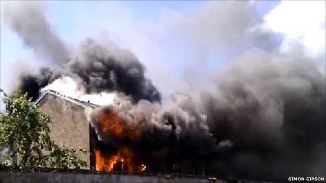 Salisbury house fire