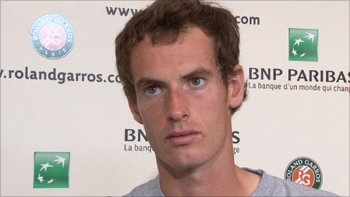 andy murray hair. Andy Murray