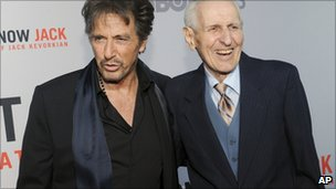 Al Pacino and Jack Kevorkian