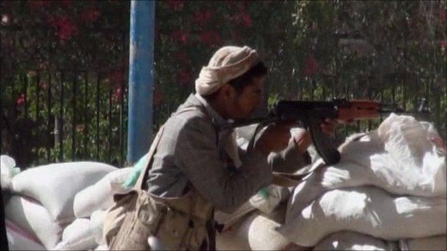 Gunman in Yemen