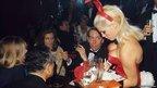 Kenneth Tynan at the London Playboy club