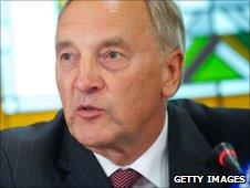 Latvian president-elect Andris Berzins
