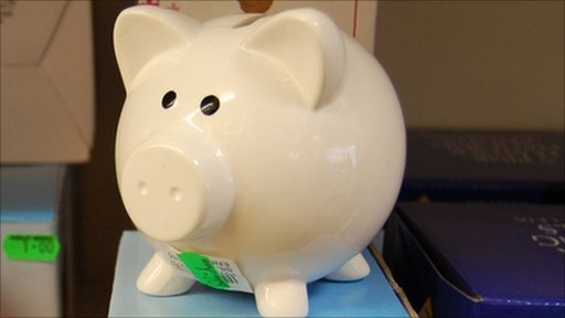 Piggy bank money box
