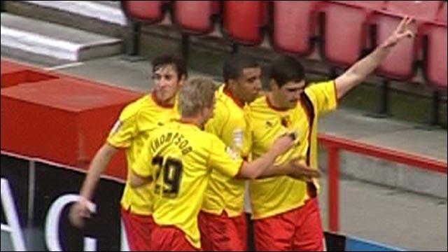 Danny Graham scores for Watford