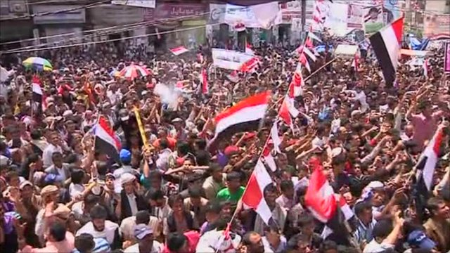Celebrations in Sanaa