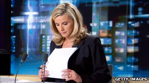 French newsreader