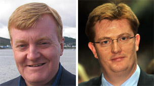Charles Kennedy and Danny Alexander