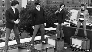 The Kinks, pictured in 1965