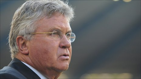 Turkey coach Guus Hiddink