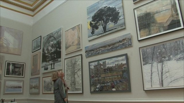 Summer Exhibition at the Royal Academy