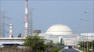 Iran's Bushehr nuclear plant, file pic
