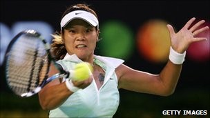 Li Na tattoo