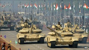 Republic Day Parade in New Delhi, India
