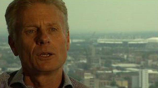 Chief executive of London 2012 Paul Deighton