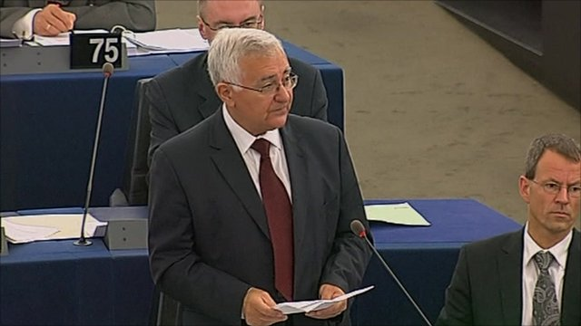 EU health commissioner John Dalli