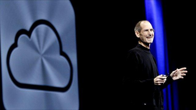 Apple CEO Steve Jobs announces iCloud services