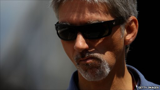 Former F1 World Champion Damon Hill at the Monte Carlo Circuit in May 2010
