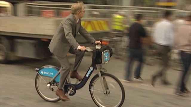 The cycle hire scheme