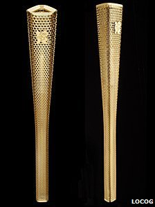 London 2012 torch prototype