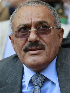 Ali Abdullah Saleh, May 2011